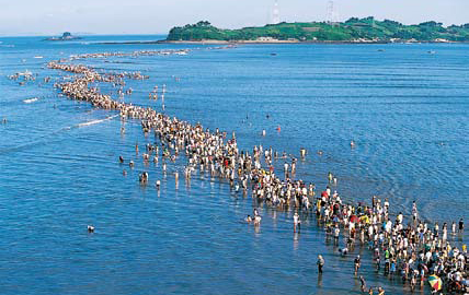 The Jindo Sea-Parting Festival