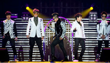 K-pop boy group, Big Bang
